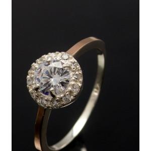 Серебряное кольцо 1005к фото