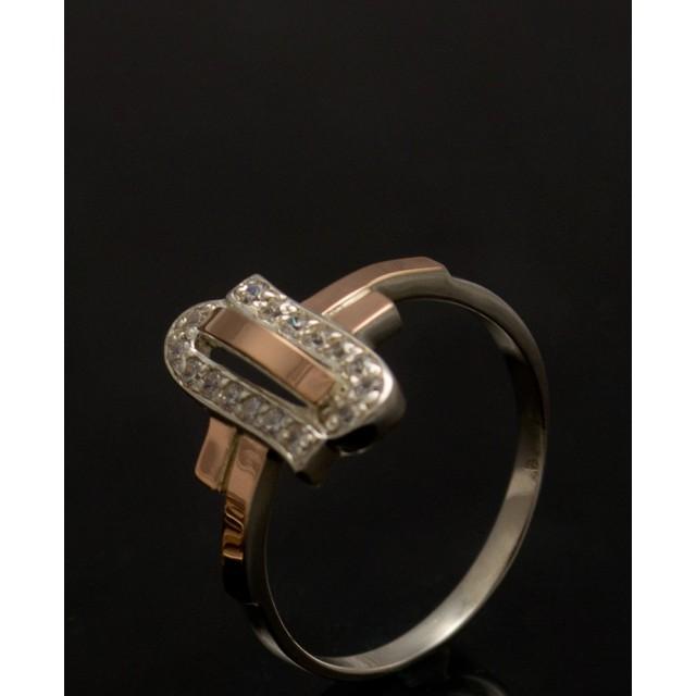 Серебряное кольцо 1006к