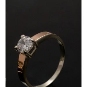 Серебряное кольцо 1007к фото