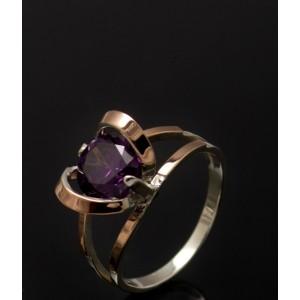 Серебряное кольцо 1010к фото