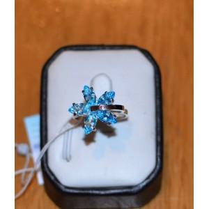 Серебряное кольцо 1011к фото