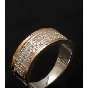 Серебряное кольцо 1014к