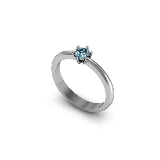 Серебряное кольцо 9621608