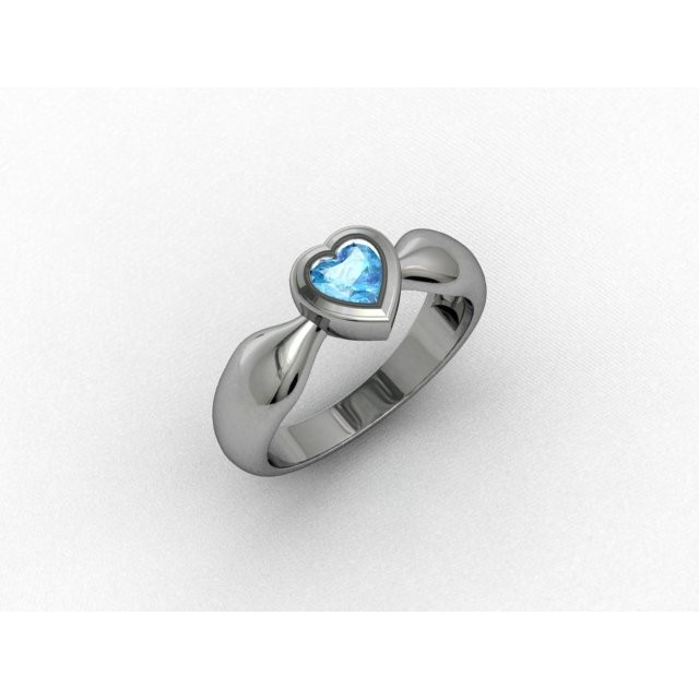 Серебряное кольцо 9621615