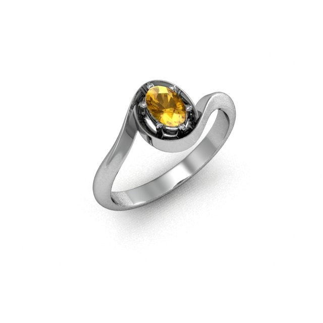 Серебряное кольцо 9621620
