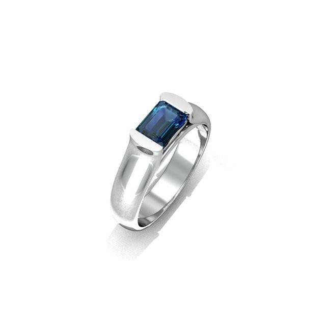 Серебряное кольцо 9621640
