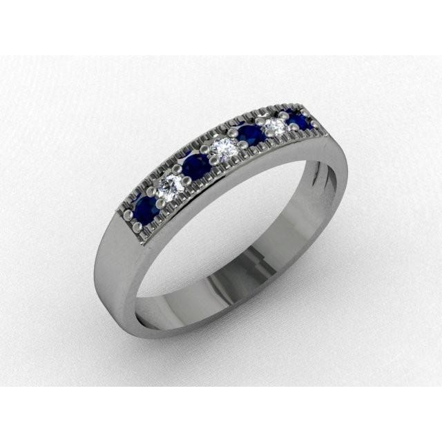 Серебряное кольцо 9621642