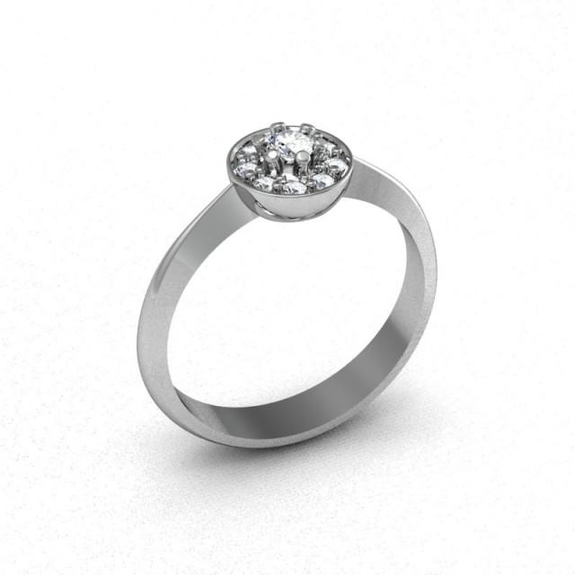 Серебряное кольцо 9621671