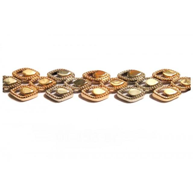 Золотой браслет 01-153 фото