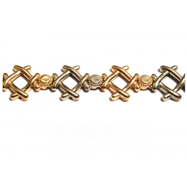 Золотой браслет 01-346