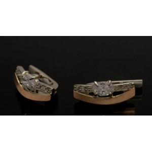 Серебряные серьги 1021с