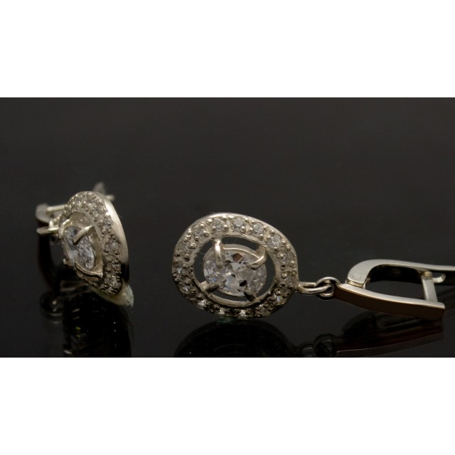 Серебряные серьги 1023с