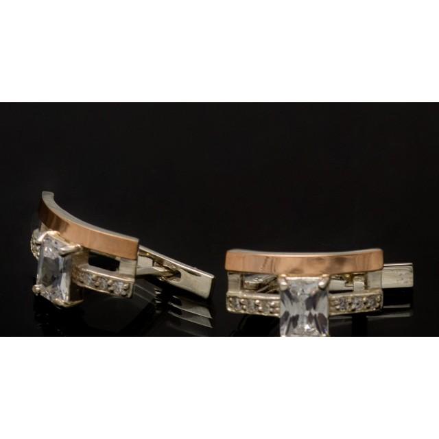 Серебряные серьги 1028с фото