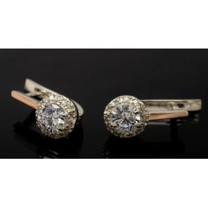 Серебряные серьги 1005с фото
