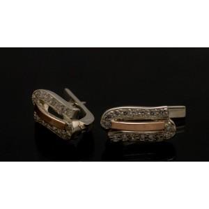 Серебряные серьги 1006с фото