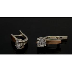 Серебряные серьги 1007с