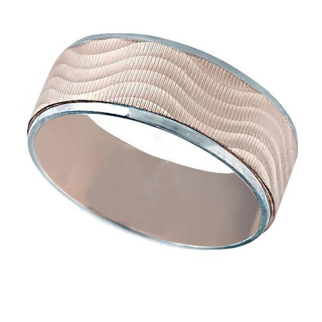 Золотое обручальное кольцо к013 фото
