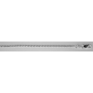 Серебряная цепь Жгут 8023