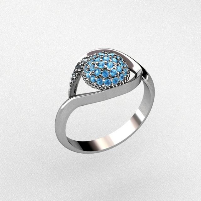 Серебряное кольцо 9621652п