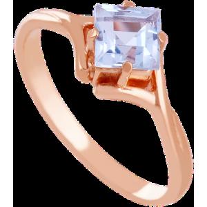 Золотое кольцо с топазом 112-1203