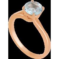 Золотое кольцо с топазом 112-1678