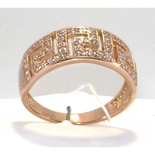 Золотое кольцо КВ 2047 ЮЭ фото