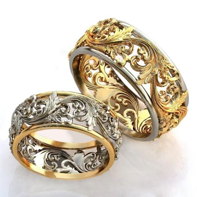 Золотое кольцо обручальное 415112