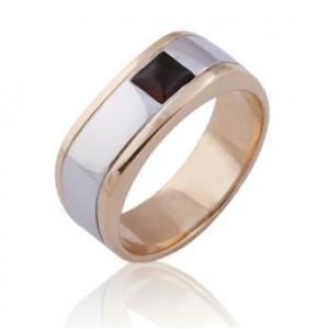 Золотое обручальное кольцо 0228 goldencl