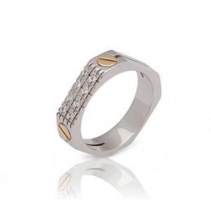 Золотое обручальное кольцо 0334 goldencl