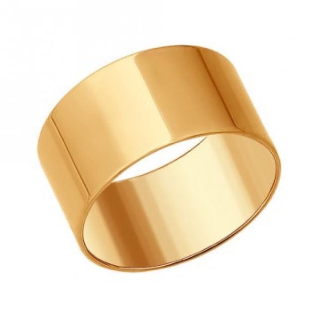 Золотое обручальное кольцо американка 4110575