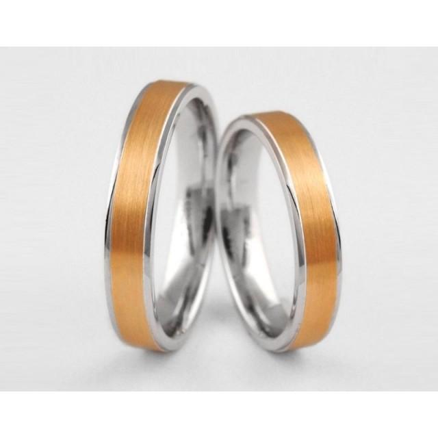 Золотое обручальное кольцо 1-101 euro