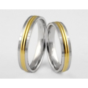 Золотое обручальное кольцо 1-103 euro