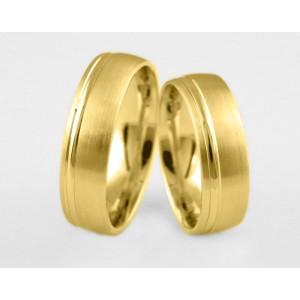 Золотое обручальное кольцо 1-108 euro