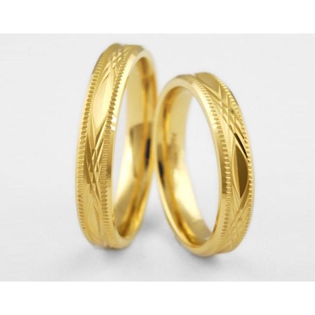 Золотое обручальное кольцо 1-112 euro