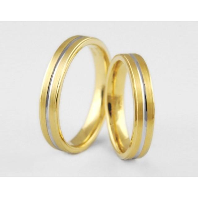 Золотое обручальное кольцо 1-115 euro