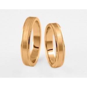 Золотое обручальное кольцо 1-119 euro