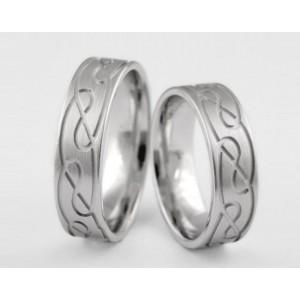 Золотое обручальное кольцо 1-121 euro