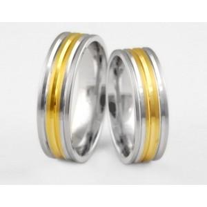 Золотое обручальное кольцо 1-130 euro