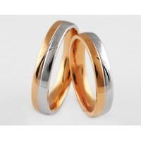 Золотое обручальное кольцо 1-134 euro