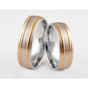 Золотое обручальное кольцо 1-137 euro