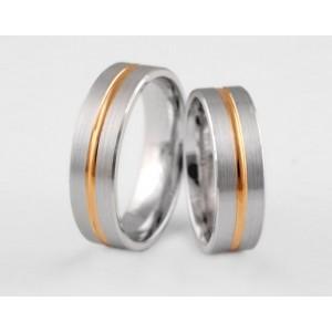 Золотое обручальное кольцо 1-140 euro фото