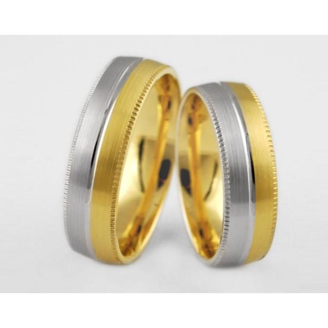 Золотое обручальное кольцо 1-142 euro