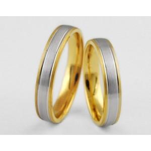 Золотое обручальное кольцо 1-145 euro фото