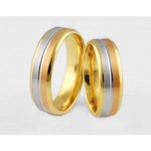 Золотое обручальное кольцо 1-148 euro фото