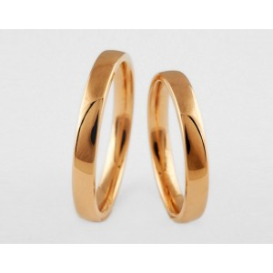Золотое обручальное кольцо 1-158 euro фото
