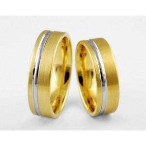 Золотое обручальное кольцо 1-16 euro