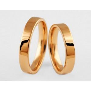 Золотое обручальное кольцо 1-164 euro фото