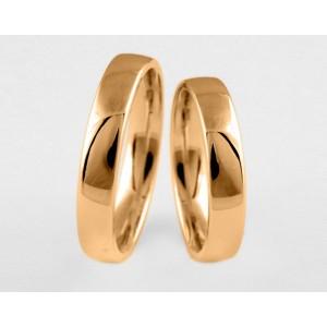 Золотое обручальное кольцо 1-182 euro