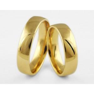 Золотое обручальное кольцо 1-184 euro фото