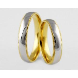 Золотое обручальное кольцо 1-190 euro фото